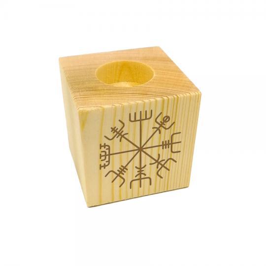 Teelicht Wikingerkompass